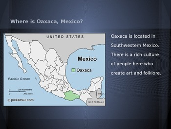 Oaxacan Mexican Clay Sculpture Powerpoint, Folklore & World History Integration