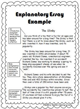 Obbleck Slime Explanatory/Informative Essay **Editable Rubric**