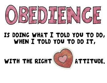 Obedience Coloring Sheet by Nicki's Digital Designs | TpT