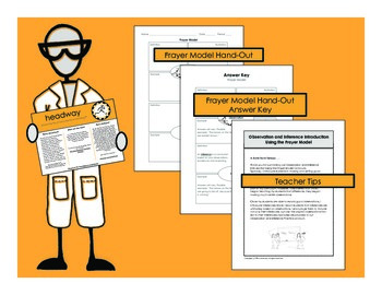 Observations and Inferences Handouts & Worksheet