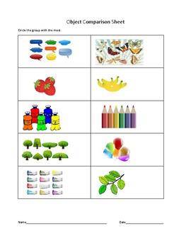 Object Comparison Sheet