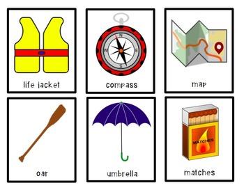 Object Descriptions: Camping Supplies