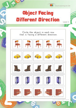 Object Facing Different Direction (Spatial Skills Worksheets)