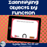 Object Function Boom Cards: Identifying Objects by Function