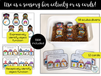 [Sensory Bin] Seasonal Object Function Bundle
