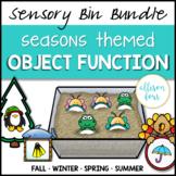 Seasons Object Function Bundle Speech Therapy Sensory Bin