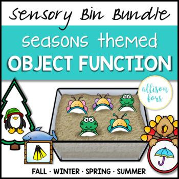 [Sensory Bin] Seasonal Object Function Bundle