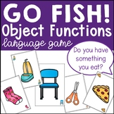 Object Function Go Fish Language Game