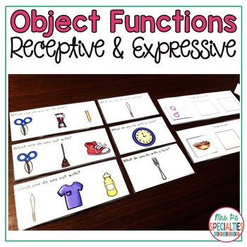Object Function Pack {A Special Education Resource}