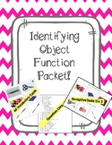 Identifying Object Function (Expressive and Receptive Activities!)