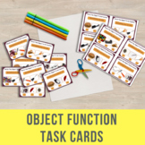 Object Function Task Cards