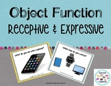 Object Function Task Cards: Receptive & Expressive