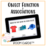 Object Function and Associations: No Print Boom Cards