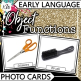 Object Functions Speech Therapy Flashcards