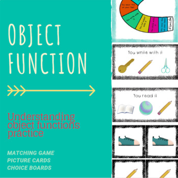 Object Functions Practice
