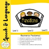 Object Functions Speech & Language Set