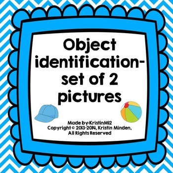 Object Identification-set of 2