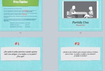 Avancemos 2:  Unidad 1 Object Pronoun Practice:  Speed Dating