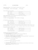 Object Pronoun Review Outline