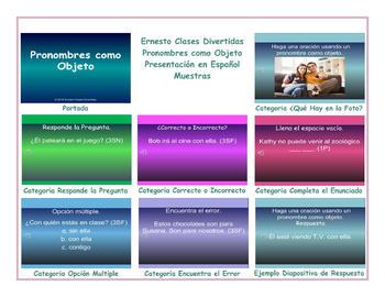 Object Pronouns  Spanish PowerPoint Presentation