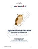 Spanish Object Pronouns and more