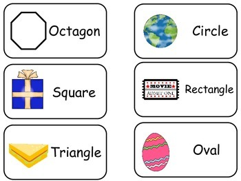 graphic relating to Printable Shapes Flashcards referred to as Item Designs printable Envision Term Flash Playing cards. Preschool flashcards.