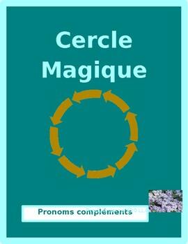 Pronoms compléments French Object pronouns Cercle magique