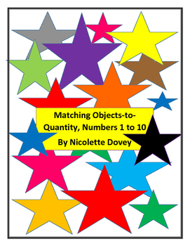 Object-to-quantity Numbers 1 to 10