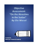 """Objective Assessment: """"On the Atrocities in the Sudan"""" by Elie Wiesel"""