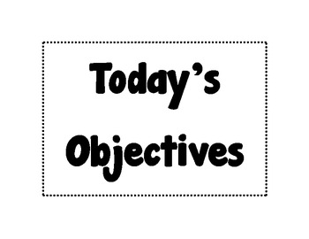 Objective Frames Horizontal