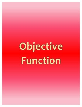 Objective Function