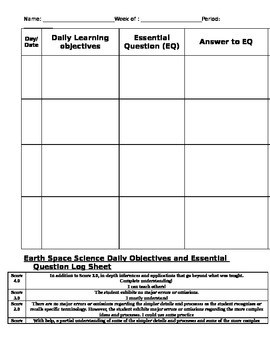 Objective Log