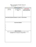 Objective Summary Graphic Organizer