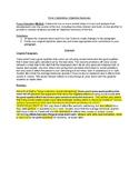 Objective Summary Worksheet: CCSS RI.2/ Error Corrections