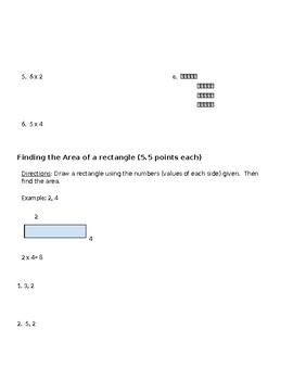 Objective Assessment for Multiplication
