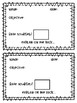 Exit Tickets - Objective Tickets/Ticket to the Weekend