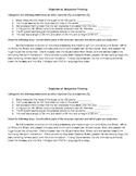 Objective vs. Subjective Thinking