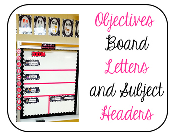 Objectives Board
