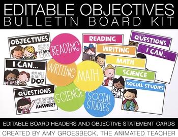 Objectives Board Kit
