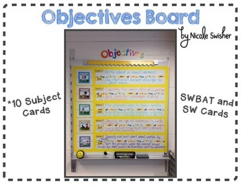 Objectives Board Set-Up