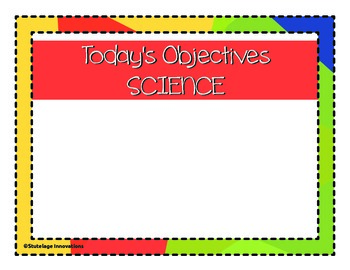 Objectives Boards