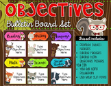 Objectives Bulletin Board {Woodland Critters Edition}