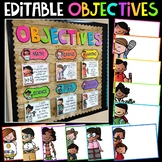 Learning Objectives Display   Objectives Board   Learning Targets