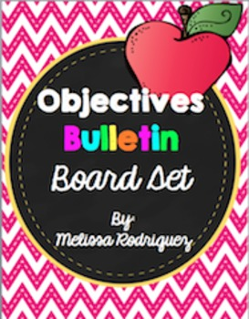 Objectives Bulletin Board Set