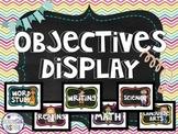 Objectives Display {Editable}