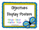 Objectives Display Board - Brights