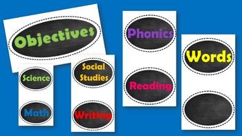 Objectives Headers