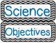 Objectives Headings Posters- Chevron