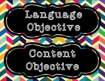Objectives Headings by Subjects