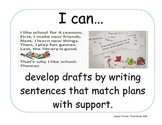 Objectives Language Arts 1st 6 weeks